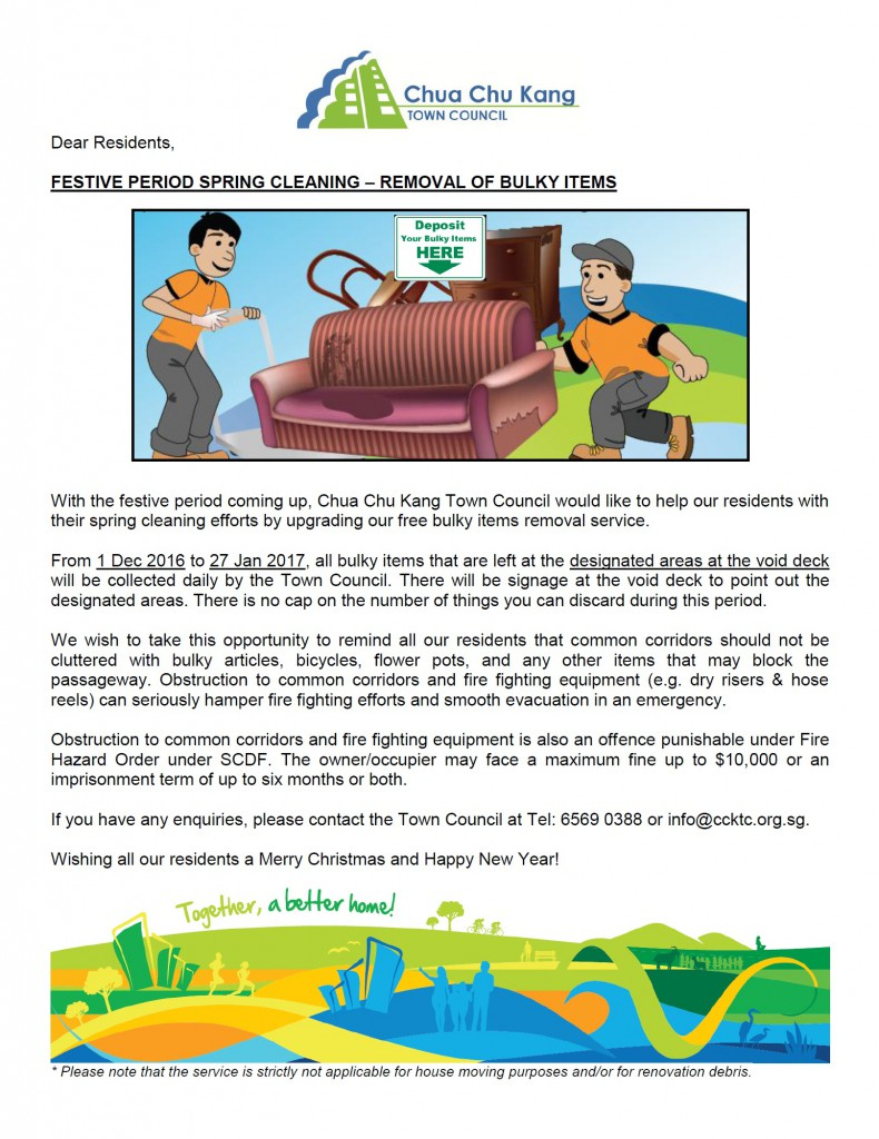 Spring Clean (Festive Period) - Amended for Dec 2016 (1)