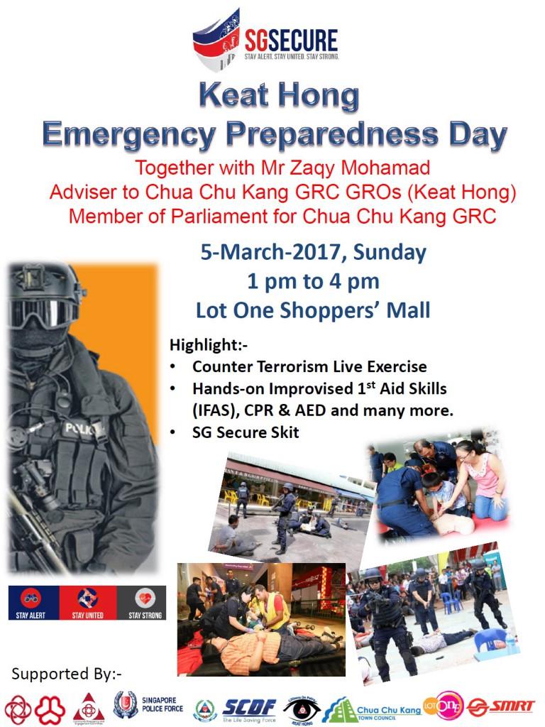 Keat Hong Emergency Preparedness Day