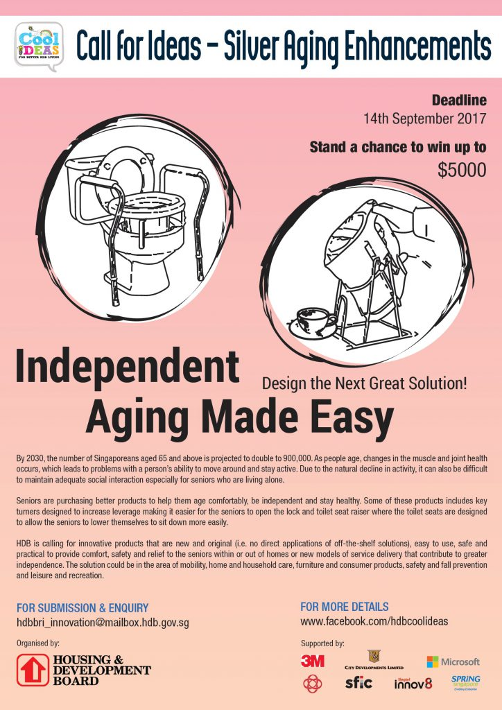 Call for Ideas on Silver Ageing Enhancements